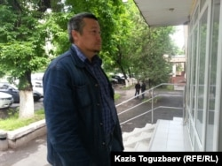 Журналист Рафаэль Балгин, свидетель по делу о публикации предположительно заказных статей о Казкоммерцбанке на сайтах «Республика» и Nakanune.kz.