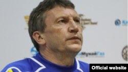 Бывший тренер национальной сборной по футболу Мирослав Беранек.