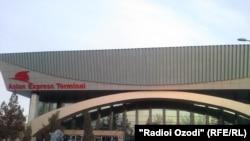 Терминали автобусҳои ширкати Asian Express дар Душанбе