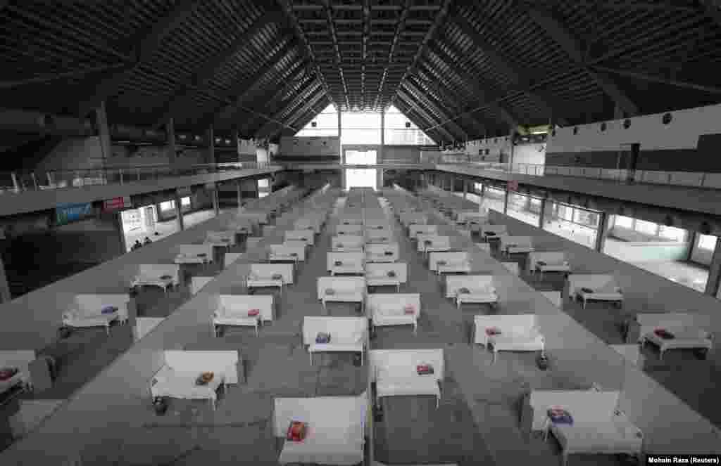 Памяшканьні выставы EXPO аддалі каранавірусным хворым і ў пакістанскім горадзе Лагор
