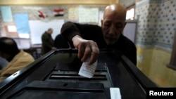Սահմանադրական հանրաքվեն Կահիրեի ընտրատեղամասերից մեկում, 14-ը հունվարի, 2014թ․