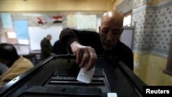 Pamje nga votimet në Egjipt
