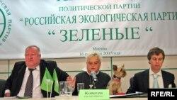 """""""Зеленые"""" уже были партией - в 2007 году"""