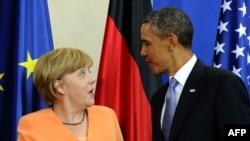 Анґела Меркель, Барак Обама, архівне фото