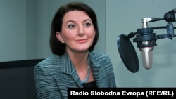 Претседателката на Косово Атифете Јајага