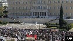 Протестите во Грција не сопираат.