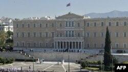 Протести пред Парламентот во Атина
