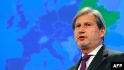 EU Enlargement Commissioner Johannes Hahn