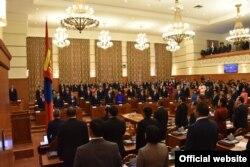 Моңғолия парламенті. Сурет parliament.mn ресми сайтынан алынды.