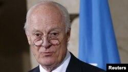 Стаффан де Мистура, БҰҰ-ның Сирия мәселесі жөніндегі арнайы өкілі
