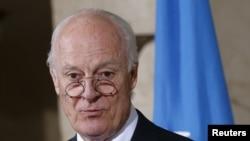 I dërguari i Kombeve të Bashkuara për krizën në Siri, Staffan de Mistura.