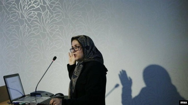 Meymanat Hosseini Chavoshi, Iranian demographer. who was arrested when she was at the airport for a flight.