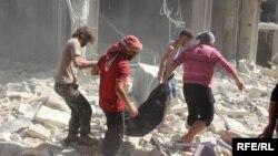 شهر حلب به دو بخش تقسیم شدهاست.