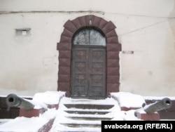 Царскія гарматы ў Гарадзенскім замку