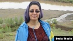 Roqiyeh (Roghieh) Kabiri, Iranian novelist. File photo