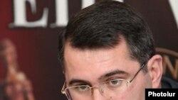 Armenia -- Armen Martirosian, a leader of the opposition Zharangutyun party, undated.