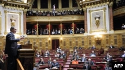 Senati francez duke miratuar ligjin që konsideron vepër penale çdo mohim të gjenocidit.