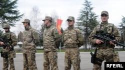 Montenegro - Danilovgrad, ilustrative photo:Units of the Army of Montenegro.14Dec2009.