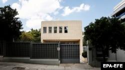 Российское посольство в Греции, 12 июля 2018 года.