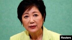 Юрико Коикэ, избранная губернатором Токио.
