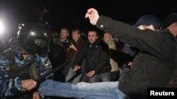 Тазоҳуроти зидди муҳоҷирон дар Бирюлёво. 13.10.2013