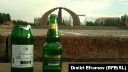 Площадь Победы после свадеб...