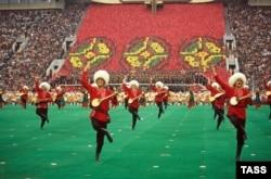 Открытие московской Олимпиады 19 июля 1980 года