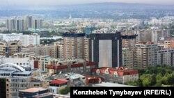 Алматы қаласы. (Көрнекі сурет)
