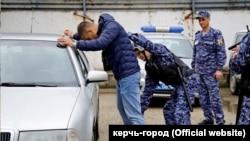 Конкурс групп задержания Росгвардии в Крыму