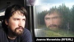 Енджей Моравецки, в путешествии по Транссибу
