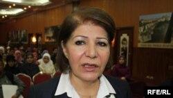 Iraqi Environment Minister Narmin Othman