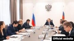 Совещание в Минкавказа по вопросу об инвестиционных проектах (скриншот с официального сайта ведомства)