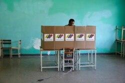 Урны для голосования - по-венесуэльски