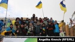 Українські вболівальники палко підтримували своїх улюбленців на сьомому етапі Кубка світу з біатлону в чеському Новому Месті