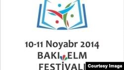 """""""Bakı Elm Festivalı – 2014"""". poster"""