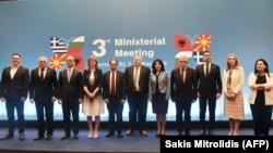 Takimi i ministrave të Jashtëm të Greqisë, Shqipërisë, Bullgarisë dhe Maqedonisë, 4 maj 2018