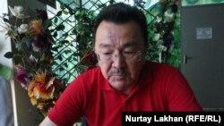 Этнический казах из Германии Омирхан Алтын. Алматы, 1 июля 2017 года.