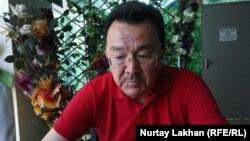 Омирхан Алтын, живущий в Германии этнический казах.