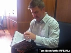 Дмитрий Миловидов, отец Нины Миловидовой, погибшей при теракте в театре на Дубровке в октябре 2002 года.