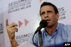 Энрике Каприлес требует отменить результаты президентских выборов