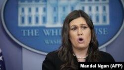 Sekretarja për Media e Shtëpisë së Bardhë, Sarah Sanders