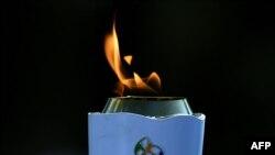 Олимпийский факел Рио-де-Жанйро