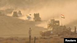 """Операция по штурму позиций боевиков группировки """"Исламское государство"""". Иллюстративное фото."""