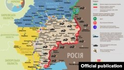 Ситуація в зоні бойових дій на Донбасі, 5 листопада 2019 року. Інфографіка Міністерства оборони України
