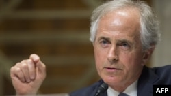 "U.S. Senator Bob Corker: ""I think there are folks within the [Trump] administration that have a very, very different point of view."" (file photo)"