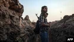 اعضای گروه کرد «يگان های مدافع خلق» در سوریه