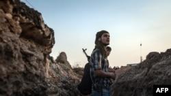 نیروهای کرد در شمال حسکه