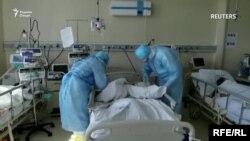 В одной из больниц Таджикистана