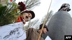 Українські комуністи відзначають день народження «вождя», 22 квітня 2010 року