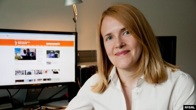 Czech Republic -- Daisy Sindelar, Senior Editor with RFE/RL Central News. Prague, June 24, 2013.